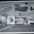 1970 Tom Wesselmann Vintage 1970 Art Exhibition Ad Advert Janis Gallery