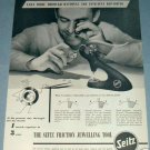 1951 Seitz Watch Repair Tool Company Le Locle Switzerland Vintage 1951 Swiss Ad Suisse Advert