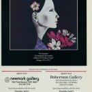 1987 Kaoru Saito Sa Sanqua 1987 Art Exhibition Ad Advertisement