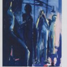 Rainer Fetting Dusche II (Blau) Art Ad Advertisement