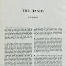 The Hands Vintage 1950 Swiss Magazine Article by H. Jendritzki Horology Horlogerie Watch Hands