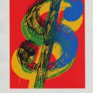 Andy Warhol Dollar Sign (1982) Art Ad