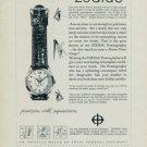 1957 Zodiac Watch Company Zodiac Powergraphic Advert Vintage 1957 Swiss Ad Suisse Advert Horlogerie