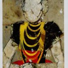 Manolo Valdes Dama con Collares Art Ad Advertisement