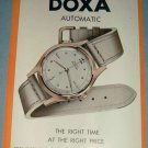 1951 Doxa Watch Company Le Locle Switzerland 1951 Swiss Ad Suisse Advert