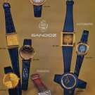 1976 Sandoz Watch Company Switzerland Vintage 1976 Swiss Ad Suisse Advert Horology