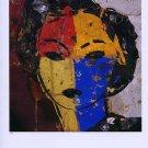Manolo Valdes Portrait Art Ad Advertisement