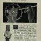 Buren Watch Company Vintage 1956 Swiss Ad Switzerland Suisse Advert Horlogerie