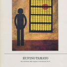 Rufino Tamayo Man in the Window 1985 Art Ad Advert Advertisement
