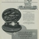 1949 Vacheron & Constantin Watch Company Switzerland Vintage 1949 Swiss Ad Suisse Advert Horology