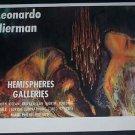Leonardo Nierman Vintage 1971 Art Ad Advert Hemispheres Galleries