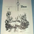 1951 Timor Watch Company Switzerland Vintage 1951 Swiss Ad Suisse Advert