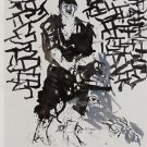 Georg Baselitz Der Hirte The Shepherd (Remix) Art Ad Advertisement