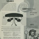 1949 Seitz Lubrifix Company Switzerland Vintage 1949 Swiss Ad Suisse Advert Horology