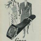 1949 Lanco Watch Company Langendorf Watch Company 1949 Swiss Ad Switzerland Suisse Advert