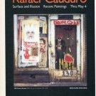 1985 Rafael Cauduro Surface and Illusion 1985 Art Exhibition Ad 130 Prince Street