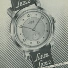 1949 Lanco Watch Company Langendorf Watch Co. Switzerland Vintage 1949 Swiss Ad Suisse Advert