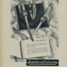 1954 Jaeger-LeCoultre Watch Company Vintage 1954 Swiss Ad Suisse Advert Horlogerie Switzerland