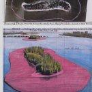 Christo Surrounded Islands Biscayne Bay Florida Art Ad