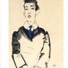 Egon Schiele Bildnis Eines Jungen Mannes Two Art Ads