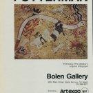 Florence Putterman Vintage 1980 Art Ad