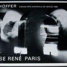 1968 Schoffer Schoeffer Vintage 1968 Art Exhibition Ad Advert Denise Rene, Paris