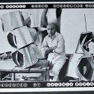 Edgar Negret Vintage 1970 Art Exhibition Ad Stedelijk Museum