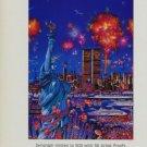 Yamagata Vintage 1986 Art Ad Lady Liberty Statue of Liberty
