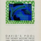 Howard Hodgkin Vintage 1986 Art Ad David's Pool