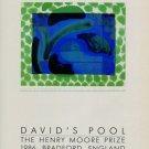 Howard Hodgkin Vintage 1986 Art Ad David's Pool