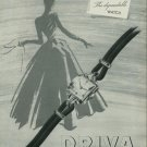 1949 Driva Watch Company Geneva Switzerland Vintage 1949 Swiss Ad Suisse Advert