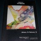 Dorothy Hyman Gaea Vintage 1972 Art Exhibition Ad Wenger Gallery, San Francisco