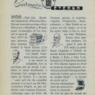 Eterna Watch Company 100 Year Anniversary Vintage 1956 Swiss Ad 1856-1956 Switzerland Suisse Advert