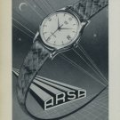 Arsa Watch Company 1956 Swiss Ad Tramelan Switzerland Suisse Horology Advert
