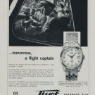 1959 Tissot Watch Company Tissot Visodate Advert Vintage 1959 Swiss Ad Suisse Advert Switzerland