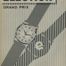 Election Watch Company Switzerland 1957 Swiss Ad Suisse Advert Horlogerie Horology