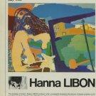 Hanna Libon 1980 Art Exhibition Ad Bernheim-June, Paris