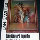 Dan Samuels Vintage 1971 Art Ad Artemis
