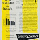 ThermoCompact Company Derobert Geneve 1956 Swiss Ad Suisse Advert Horlogerie Horology