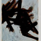 Franz Kline Study for Black and White #1 Art Ad Publicite Advert