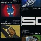 SGT Watch Company Invicta Helvetia Titus Waltham 1973 Swiss Ad Suisse Advert Societe des Garde-Temps