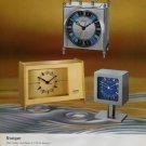 Staiger Clock Company Germany Vintage 1973 Swiss Ad Suisse Advert Horlogerie Horology