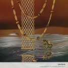 1973 Jeweler Georges Lenfant S.A. Paris France Vintage 1973 Swiss Ad Publicite Suisse Advert