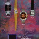1973 Technos Watch Company Switzerland Swiss Ad Publicite Suisse Montres Advert Gunzinger Bros