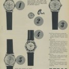 1957 Repco Watch Company Bienne Switzerland Vintage 1957 Swiss Ad Publicite Suisse Montres Advert
