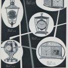 1956 Angelus Clock Company Le Locle Switzerland Swiss Print Ad Publicite Suisse