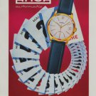 Arsa Watch Company 1959 Swiss Ad Suisse Horlogerie Advert Tramelan Switzerland