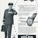 1956 Vulcain Watch Company Switzerland Vulcain Cricket Advert Vintage 1956 Swiss Ad Suisse Advert