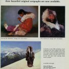 Lunda Hoyle Gill 1980 Art Ad Publicite Advert Sewing My Mukluks