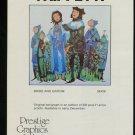 Trippetti Bride and Groom 1980 Art Publicite Advert Advertisement
